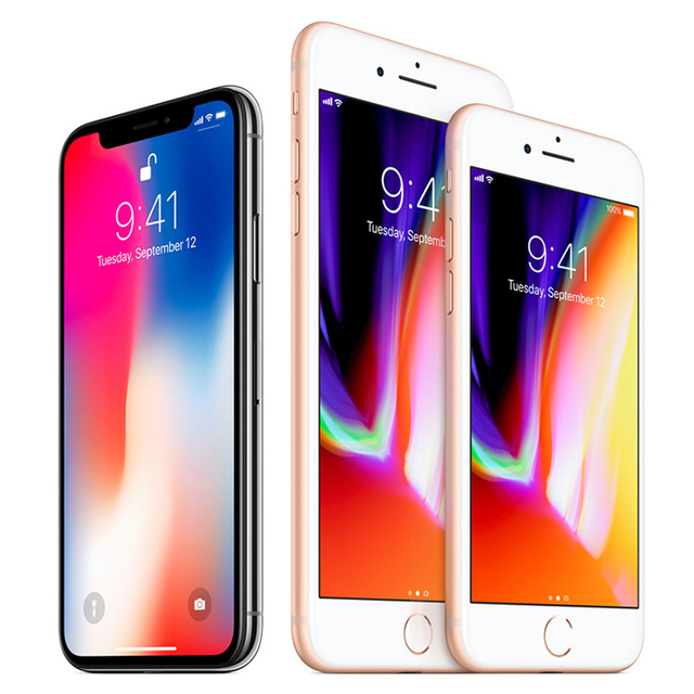 Original Unlocked Apple iPhone 8 Plus LTE Mobile Phone 3GB RAM Hexa Core 12.0MP 5.5″ iOS Fingerprint  Used Smartphone