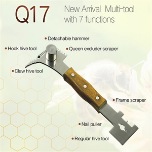 Image 2 - Benefitbee Bienenzucht Werkzeuge Bee Beehive Schaber Messer Für Imker Patent Multifunktions Bienenzucht Ausrüstung Imkerei