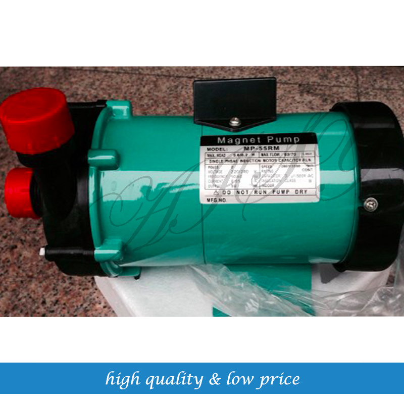 2pcs MP-55RM magnetic drive circulation pump in chemical industry/ food цена и фото