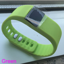 Green TW64 Smart Bluetooth Watch Bracelet Smartband Wristband Sport Pedometer for Apple IOS Android System Intelligent