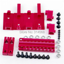 1 10 RC Car Height Adjustable Alloy Stealth Body Stand Mount Pink Vehicles Model Toy Car