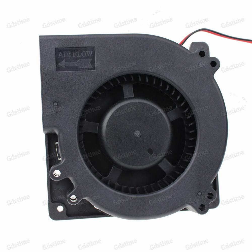 2 Piece Gdstime DC 24V Dual Ball Bearing Brushless Industrial Machine Blower Cooler Cooling Fan 120x32mm 120mm 12CM 2 pcs gdstime tow ball bearing 48v 170mm x 50mm circle cooler metal case industrial dc cooling fan 172mm x 51mm 2pin 17cm 17251