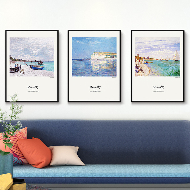 Simple Design Big Photo Frames Set 3pcs/set Sofa Wall Hanging Photo ...