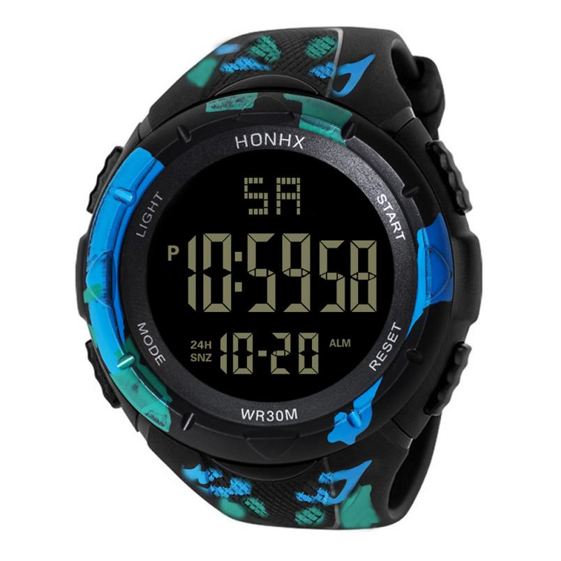 HONHX Brand Smart Watch Women Men LED Water Resistant Fashion Watch Military Sport Men's Watches Digital Wristwatches