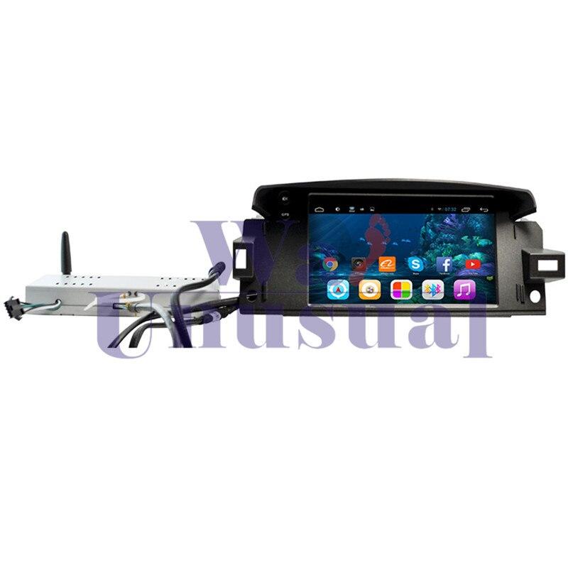 Vidéo de Navigation de GPS de PC de voiture d'android 6.0 de wanhabituel pour la Latitude 2014-lecteur Radio deux Din Magnitol aucun DVD BT 3G Bluetooth