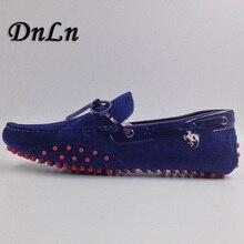 Anti Slip Mens Shoes Soft Suede Leather Men's Loafers Slip On Shoes Casual Mens 6#20/10D50 suede slip on mens shoes