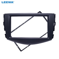 LEEWA Car refitting DVD frame,DVD panel,Dash Kit,Fascia,Radio Frame,Audio frame for 2006 2012 Toyota RAV4,2DIN #CA1738