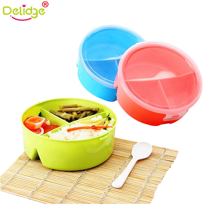 delidge 1 pc Food Container Tableware Cutlery Box