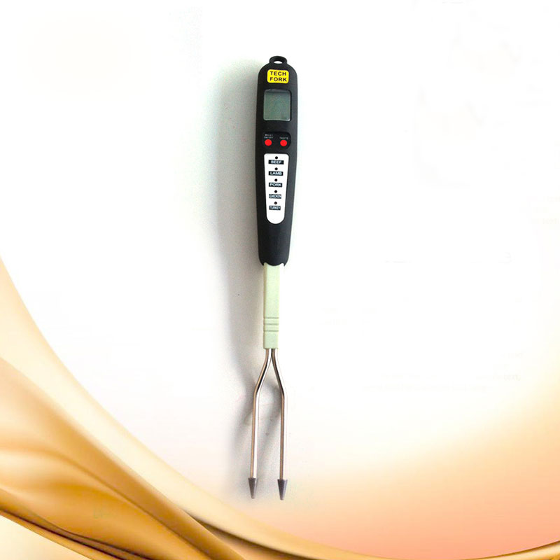 There's a variety of thermometers to choose from, and each can work best for different applications and provide different levels of accuracy. Digital BBQ Meat Fork Thermometer Kitchen Food Thermometer ...