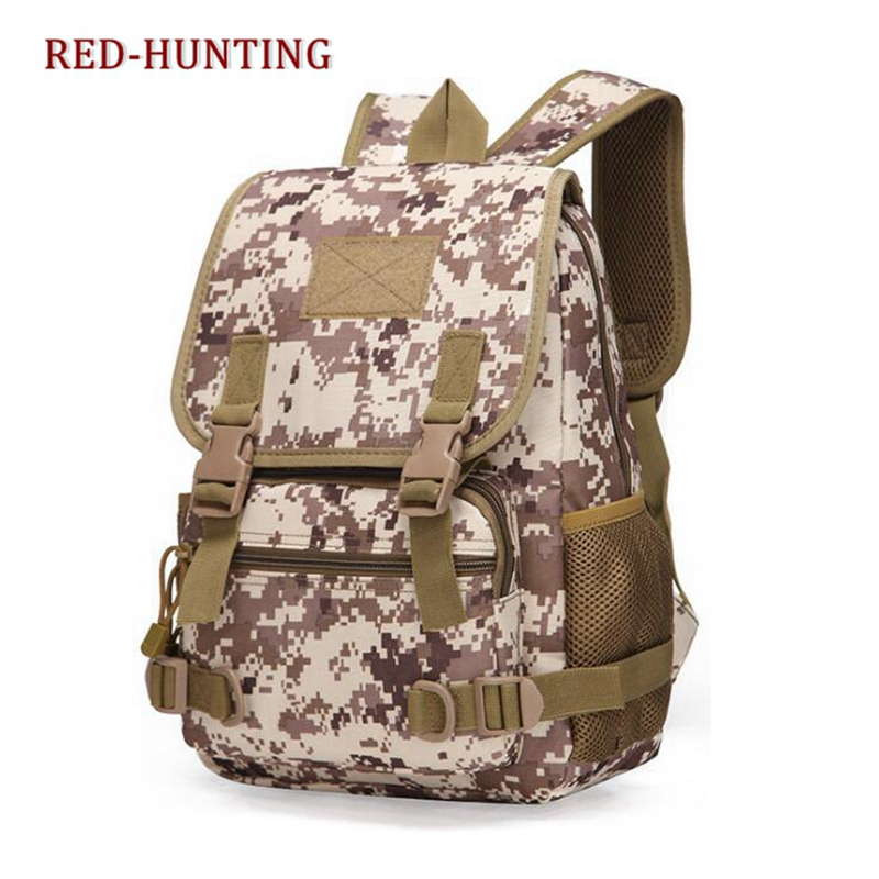 Outdoor Camping Tactical Assault Pack Military Backpack Rucksack Student Bag 50L
