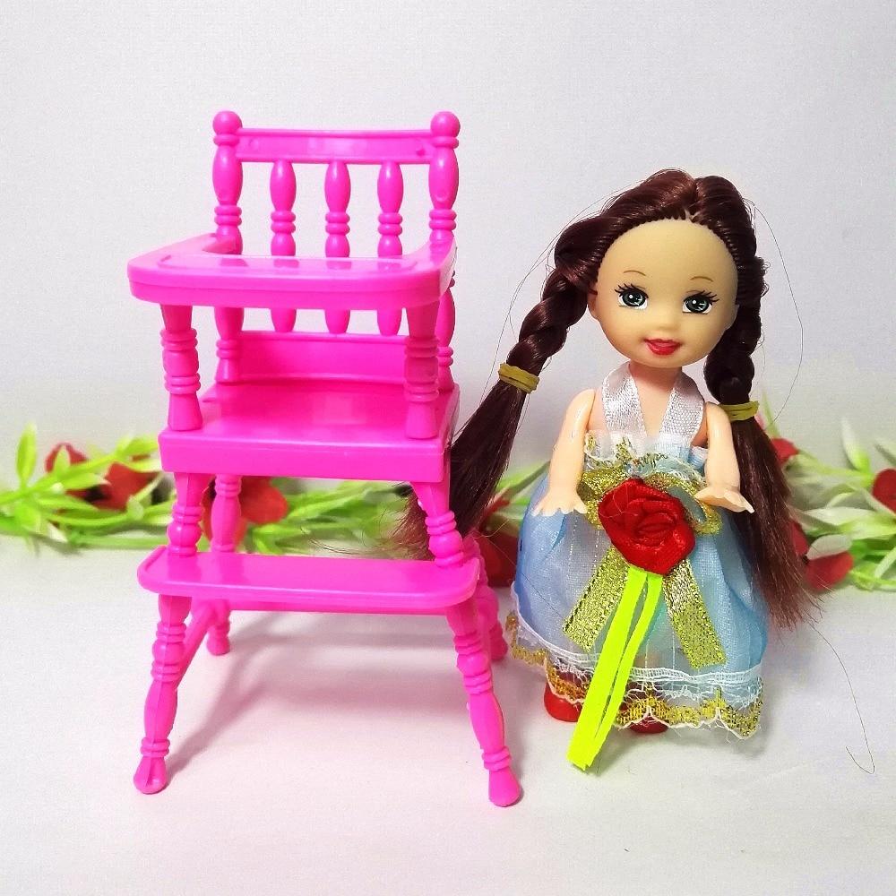 Poupée De Mode Accessoires En Plastique Dinning Chaise pour Kelly - Poupées et accessoires - Photo 3