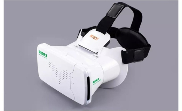 2016 New RITECH Google Cardboard Smartphone Virtual Reality 3D Glasses Headset For 3.5''-6.0'' Screen Augmented Reality VR Box