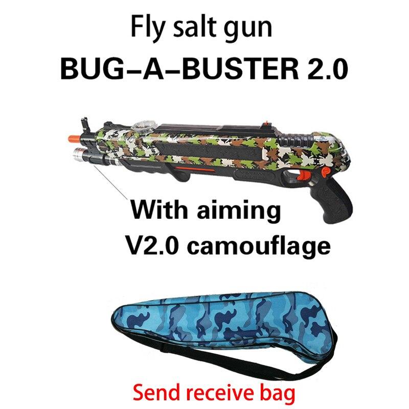 12type Hot Summer Gift Bug A Salt Fly Gun Salt Pepper Bullets Blaster pistola airsoft Gun kill Mosquito flyToy outdoor Salt Gun 6