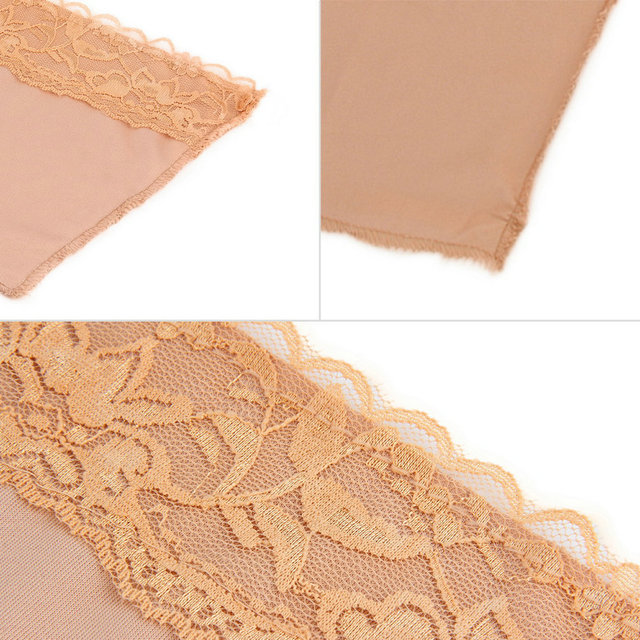 NEW 3Pcs/set Quick Easy Bra Lace Clip on Camisoles Custom Cleavage Control Lace Set Panels 3 Colors Pack Seen on TV Bra