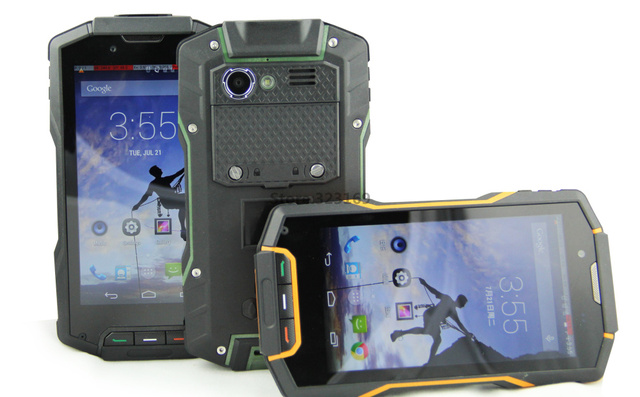 2017 Upgrade Shockproof ip68 Waterproof Phone Quad Core IP68 rugged Android Smartphone Mobile HG04 4G FDD LTE GPS 2GB RAM GPS