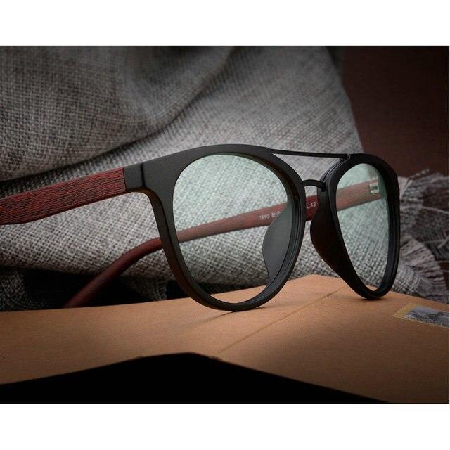 305a29fda2 MINCL 2018 Fashion Acetate Wood Optical Glasses Frame Print Eyeglasses  Frame Men Women Brand Designers