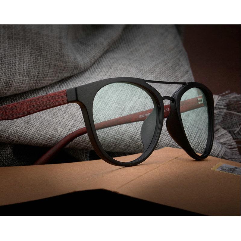 MINCL/2018 Mode Acetat Holz Optische Gläser Rahmen Druck Brillen ...