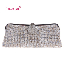 Fawziya Clutch Bag Brand Name Evening Clutch With Flower Girl Purse For Bridesmaid Clutch