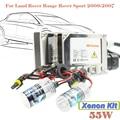 55 W Xenón Kit De Coche HID Bulbo de Lastre DC Auto Cabeza Linterna de La Luz 3000 K-15000 K Para 2006-2007 Range Rover Sport