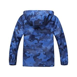 Image 2 - 방수 아동 코트 Windproof 스포티 한 아기 소녀 소년 재킷 따뜻한 어린이 겉옷 의류 아이 복장 5 14 세