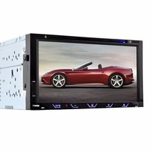 HEVXM 7080B 7 inch Car DVD Player FM Radio BT  DVD Player Reverse Priority Multifunction Car DVD Player