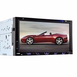 Image 1 - HEVXM 7080B 7 inch Car DVD Player FM Radio BT  DVD Player Reverse Priority Multifunction Car DVD Player