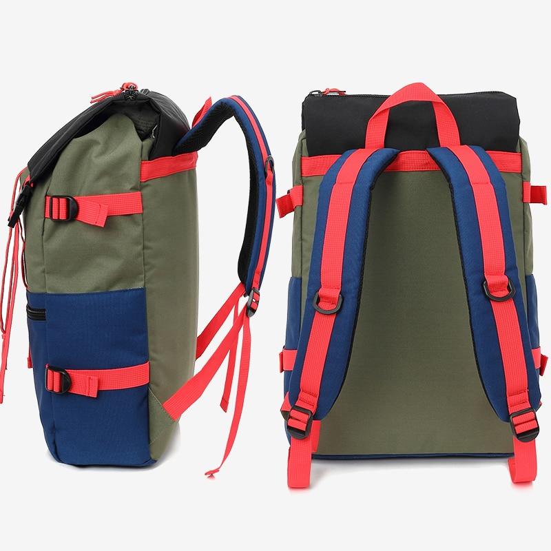 KINGSLONG Travel Men Waterproof Drawstring Bag America Backpack for Laptop Male Large Capacity Bag for Teenagers KLB1342-6 8