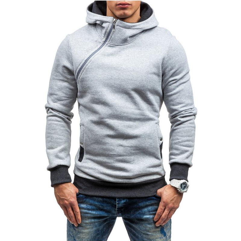 Hip Hop mens hooded zipper 7