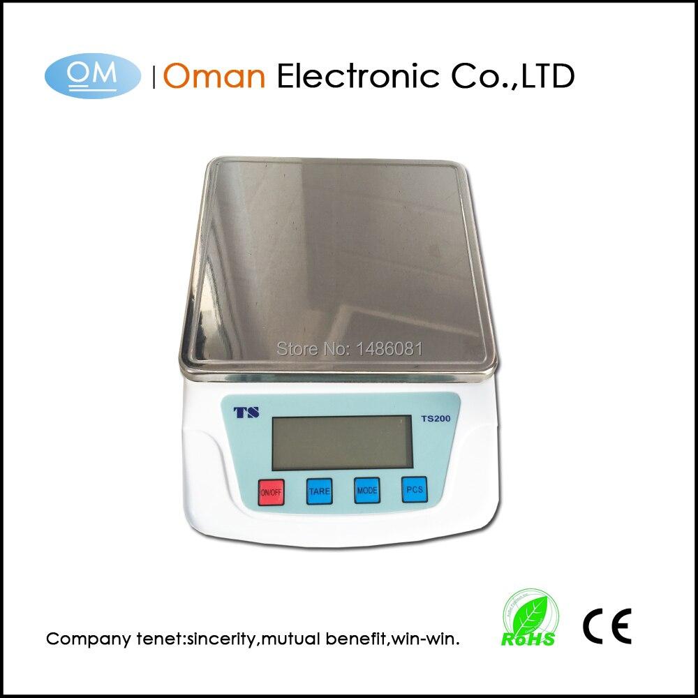 Oman-t200a 10 кг/1 г Кухня Весы баланс Весы