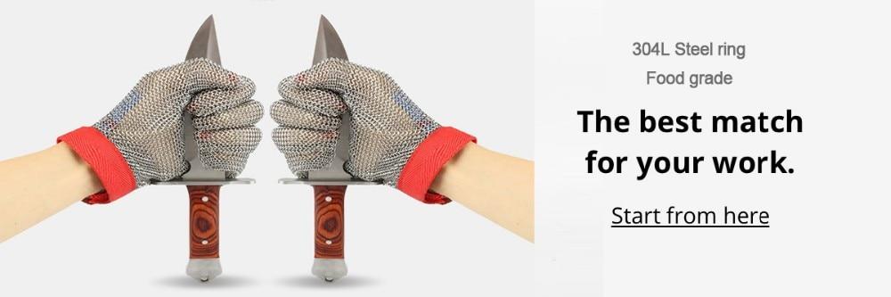 steel ring gloves