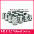 16PCS 19Hex  M12 x 1.5  Alloy  Wheel Nut For Ford FOCUS Turnier Buick Excelle Cruze  Sail Mondeo Ecosport