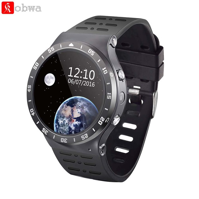 e601ab605 S99A Android 3G Smart Watch Phone Smartwatch GPS WiFi Heart Rate Monitor  Camera SIM Card Bluetooth V4.0 Touch Screen Wristwatch