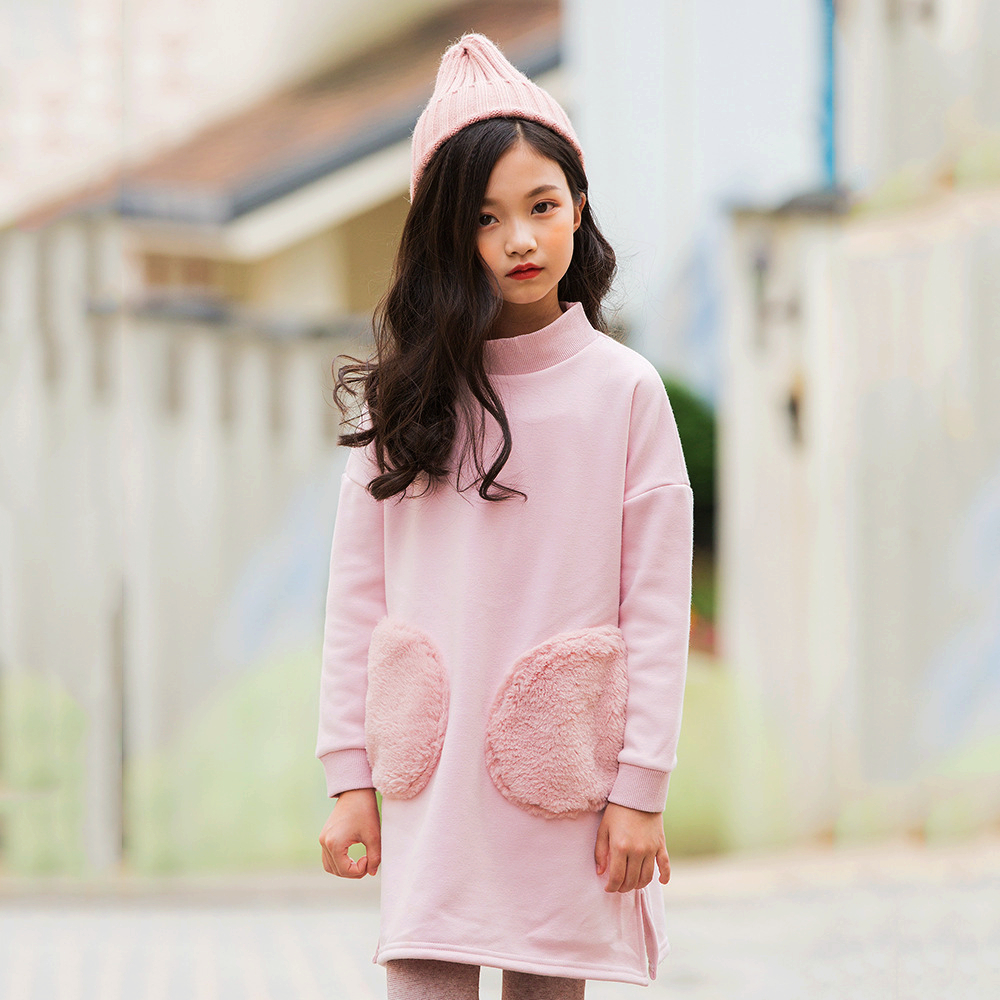 girls winter dresses 2018 kids clothes baby girl long sleeve princess dress for children teen velvet clothing vestido menina 2018 girl party dress spring a line kids dress for girls autumn princess dresses children 2 14 clothes girl long sleeve clothing
