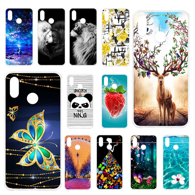 TAOYUNXI Cases For Huawei P20 Lite Case For huawei nova 3E 5.84 inch Soft Silicone Back Covers Painted Bags Skins Shell Housings