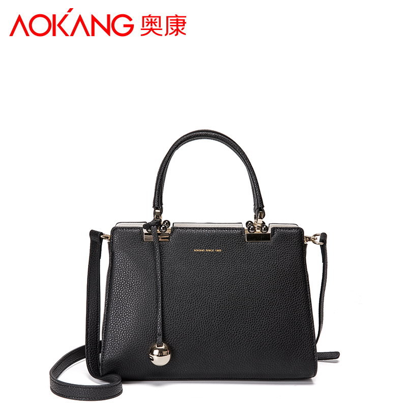 Aokang 2017 Women Bag Handbags Women Famous Brands genuine leather Luxury Designer Handbag High Quality free shipping new design women leather handbag genuine leather bag handbag sheepskin women famous brands designer high quality top handler bag