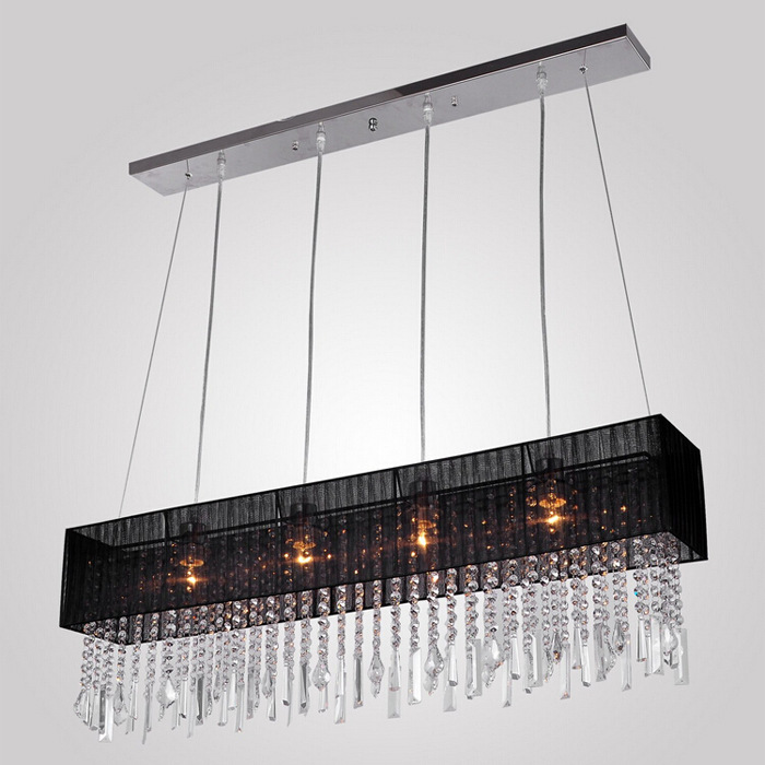 Crystal Chandelier Light For Dining Room Led Crystal Chandeliers Square Lamp Rectangle Living Room Lights Curtain Lights WPL086 modern crystal chandelier led hanging lighting european style glass chandeliers light for living dining room restaurant decor