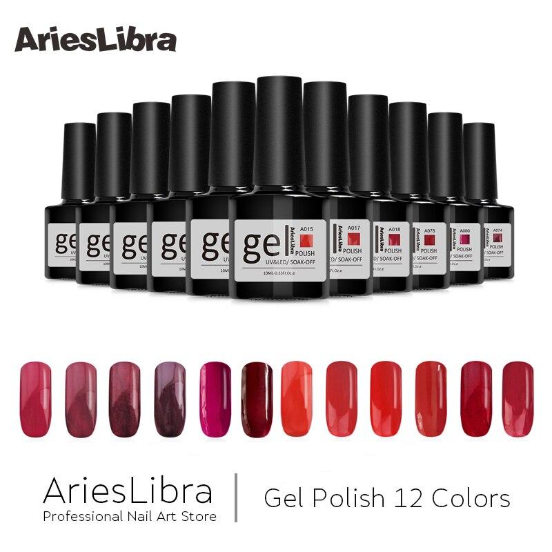 Queen Gel Nail Polish: AriesLibra UV Gel Nail Polish Lacquer Charming Queen Long