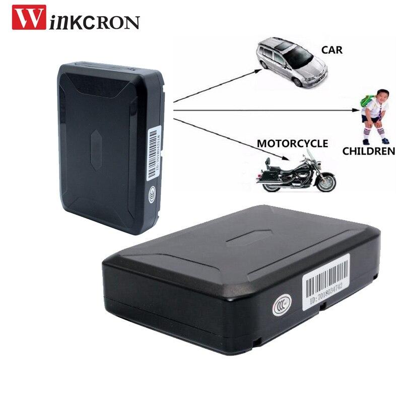 Traqueur de voiture GPS 20000 mah batterie magnétique traqueur GPS bande de qualité GT20 étanche Android et IOS App