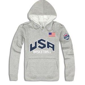 2019 أزياء العلامة التجارية الخريف الشتاء الرجال هوديس رجالي الهيب هوب USA كرة السلة سوياتشيرتس 4 ألوان blusa الغمد