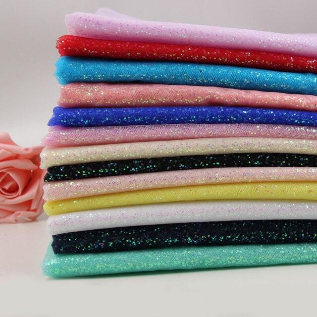 2M 5M 10M Width 150cm Sequin Glitter Fabric Tulle Gauze Mesh for Home  Garden Wedding Brithday Party Home Organza Decoration 262546fff851
