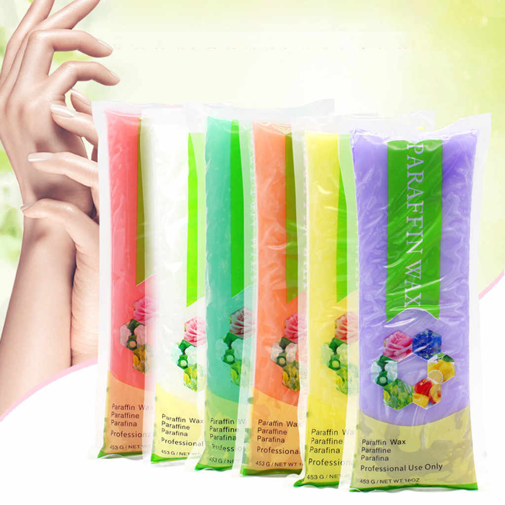 Facial Care Tools Paraffin Wax Hand Feet Bath Rose Peach Mask Professional beauty Therapy Replacement SPA 450g Dropshipping