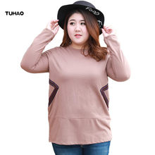 TUHAO Plus Size 7XL 6XL 5XL Long Sleeve Shirts Female Autumn Winter Office Casual Blouse 2018 Women Blouses Top YBFS
