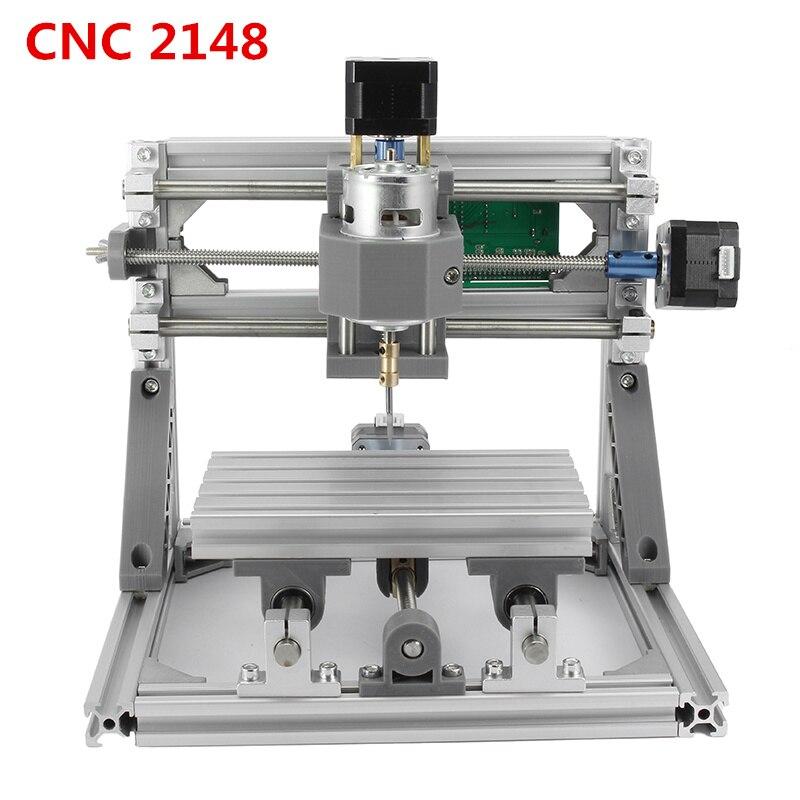 CNC 2418 GRBL Contrôle Machine DIY Zone de Travail 24x18x4.5 cm 3 Axes Pcb Pvc Fraiseuse bois Routeur Sculpture Graveur