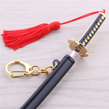 One Piece Roronoa Zoro Swords Weapon Keychains