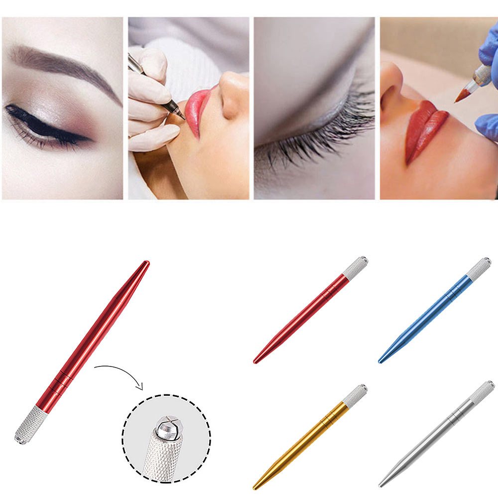 Microblading Pen Tool Needle Holder Bulk Microblade Eyebrow Silver Crystalum Online Shop Tattoos & Body Art