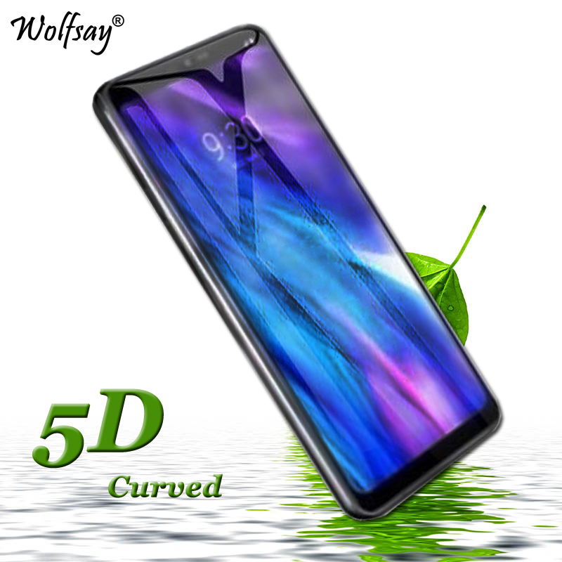 5D Curved Edge Tempered Glass sFor LG Q6 Screen Protector Glass FOR LG Q6 Q6A M700 Full Cover Full Glue Phone Film for LG Q6 Q 6
