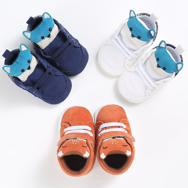 Autumn-baby-boy-girl-shoes-Cotton-Cloth-kid-Fox-head-Lace-first-walker-Canvas-Sneaker-anti-slip-Soft-Sole-Toddler-footwear-hook-5