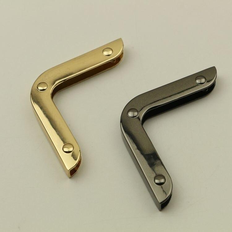 Luggage & Bags China Wholesale Metal Handbag Accessories 10 Pcs Per Loy Light Gold Gunemtal Metal Ornament Luggage Bag Parts Metal Lock Hooks