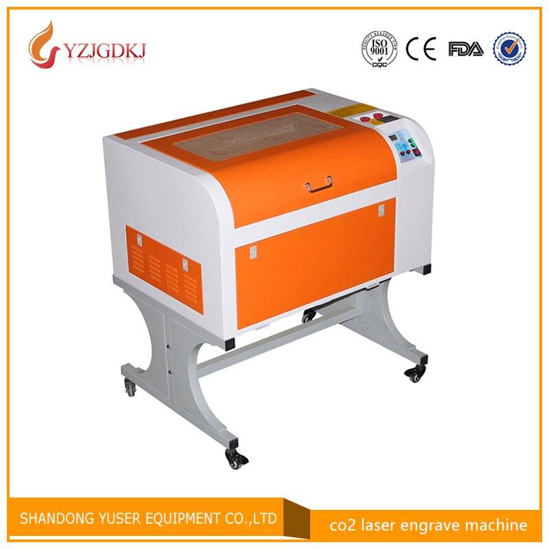 4060/50 w mini version basse de la gravure laser machine de découpe CO2 laser machine de gravure