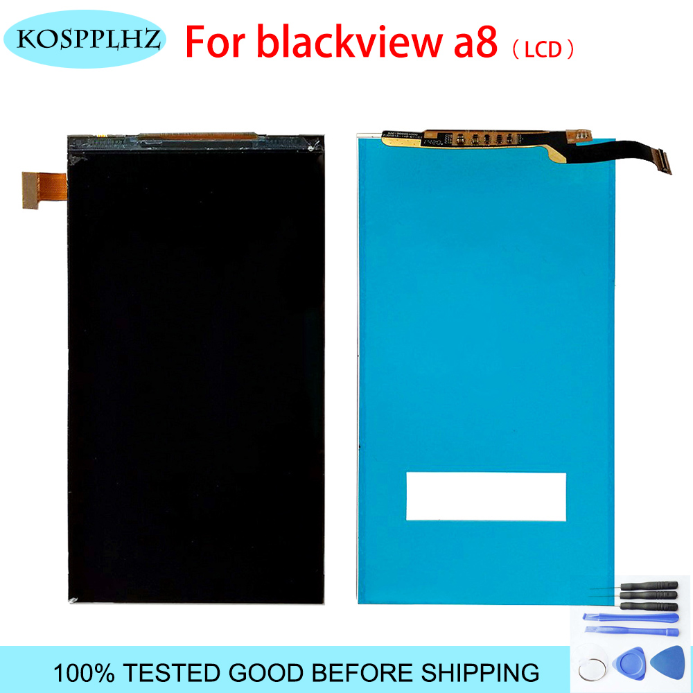 Black color 5inches LCD <font><b>Display</b></font> For Blackview <font><b>A8</b></font> LCD <font><b>Display</b></font> Digitizer Panel Replacement with tools image